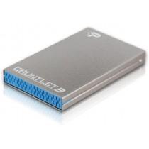 Patriot Guantlet 3 obudowa dysków SSD i HDD 2.5'' USB 3.0, Srebrny
