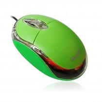 Vakoss MSONIC Mysz Optyczna USB 1200dpi ZIELONA