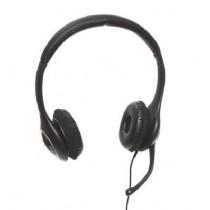 Sandberg słuchawki nauszne z mikrofonem Plug'n Talk - czarne