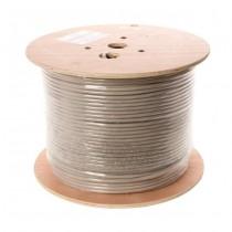 Linkbasic Kabel instalacyjny skrętka FTP kat. 6A, drut 305m, 100% miedŸ, szpula