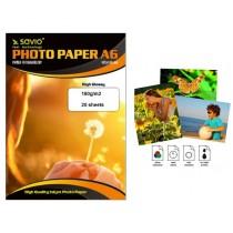 Savio Papier foto PA-01 A6 180g/m2 20szt. błysk