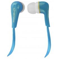 Esperanza Słuchawki Douszne Audio Stereo LOLLIPOP EH146B Niebieskie