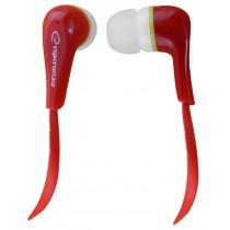Esperanza Słuchawki Douszne Audio Stereo LOLLIPOP EH146R Czerwone