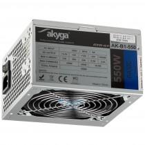 Akyga Zasilacz Komputerowy ATX Basic 550W AK-B1-550 Fan 120 mm PCI-E