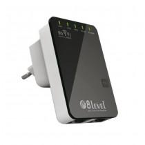 8level WRP-300 router WiFi N300 2T2R Wireless repeater 1xWAN/LAN, 1xLAN