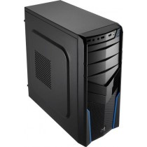 Aerocool PGS V2X BLACK / BLUE Obudowa ATX, USB 3.0, bez zasilacza