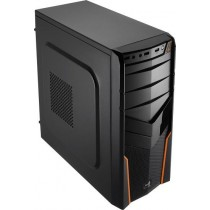 Aerocool PGS V2X BLACK / ORANGE Obudowa ATX, USB 3.0, bez zasilacza