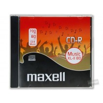 Maxell CD-R 700 MB AUDIO XL II JEWELCASE BOX