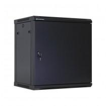 Linkbasic szafa wisząca rack 19'' 15U 600x450mm czarna (drzwi przednie stalowe)
