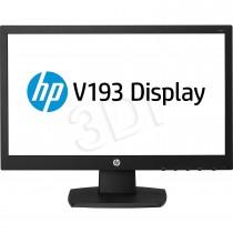 HP Monitor HP V193 G9W86AA#ABB ( 18 5 ; TN ; 1366x768 ; czarny )