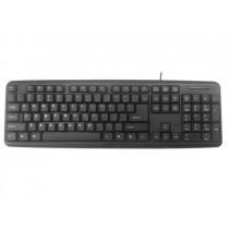 Gembird klawiatura USB standardowa, czarna