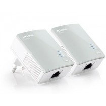TP-Link TL-PA4010 AV500 Nano Powerline Adapter Starter Kit (Twin Pack)