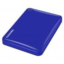 Toshiba Dysk zewnętrzny Canvio Connect II HDTC805EL3AA ( HDD 500GB ; 2.5 ; USB 3.0 ; niebieski )