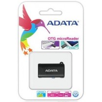 A-Data USB OTG MICROSD CARD READER CZARNY