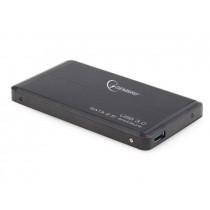 Gembird obudowa USB 3.0 na dysk HDD/SSD 2.5'' SATA, aluminiowa, czarna