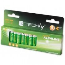 Techly Baterie alkaliczne 1.5V AAA LR03 12 sztuk