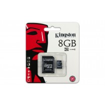 Kingston karta pamięci Micro SDHC 8GB Class 4