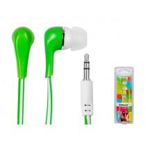 Vakoss Słuchawki douszne silikonowe stereo MH132EE zielone