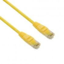 4World kabel krosowy RJ45 (osłonka zalewana, kat. 5e UTP, 1m, żółty)