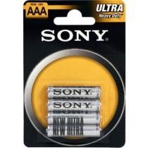 Sony Baterie cynkowe Sony R03 x 4 szt.| blister