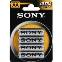 Sony Baterie cynkowe Sony R6 x 4 szt. | blister