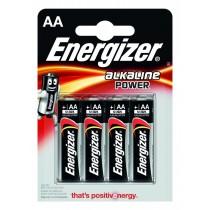 Energizer Bateria Alkaline Power Alkaliczna AA LR6 E91 4 szt. blister