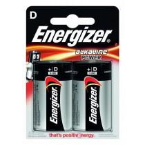 Energizer Bateria Alkaline Power Alkaliczna D LR20 2 szt. blister