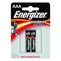 Energizer Bateria Alkaline Power Alkaliczna AAA LR03 E91 2 szt. blister