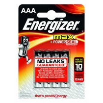 Energizer Bateria Max Alkaliczna LR03 AAA E91 4 szt. blister