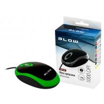 BLOW mysz optyczna MP-20 USB zielona