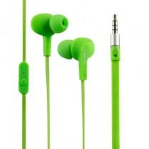 LogiLink - Słuchawki douszne z mikrofonem ''Sports-Fit'', ochrona IPX6, zielone