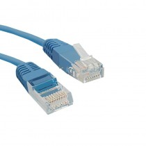 Qoltec Kabel Patchcord UTP | CAT5E | 0,5m