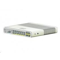 Cisco Systems Switch zarządzalny Cisco Catalyst 2960C Switch 8 FE PoE, 2 x Dual Uplink, Lan Base