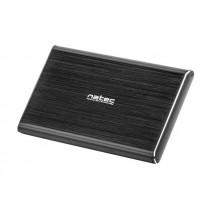 NATEC RHINO PRO obudowa USB 3.0 na dysk HDD/SSD 2.5'' SATA, czarna Aluminium