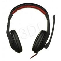 TACENS Słuchawki nauszne z mikrofonem Tacens MARS MH1 (czarny)