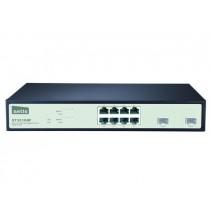 Netis Switch Rack 19'' 8x port 1GB + 2x combo 1GB/SFP, zarządzany SNMP, ST3310GF