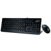 Genius klawiatura SlimStar 130 + mysz, czarna