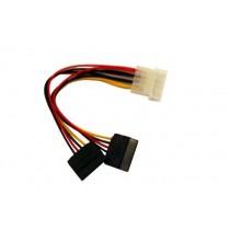 Gembird kabel do dysków Serial ATA zasilający 2x