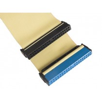Gembird Taśma HDD | ATA 40-pin IDE100 | 50cm | żółty