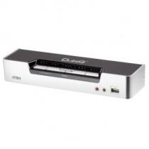 Aten CS1794 4-Port HDMI USB 2.0 KVMP Switch (4x HDMI Cables, 2-port Hub, HD Audio)