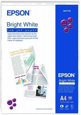 Papier Epson Bright White Ink Jet (matowy, 90g, A4, 500szt.)