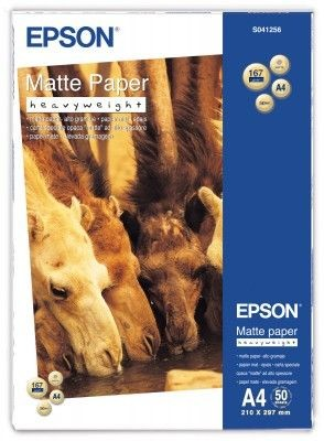 Epson Papier matte Heavyweight | 167g | A4 | 50ark