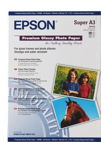 Epson Papier Premium Semigloss photo | 251g | A3 | 20ark