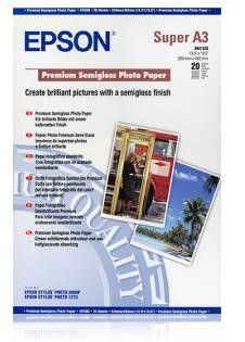 Epson Papier Premium Semigloss photo | 251g | A3+ | 20ark