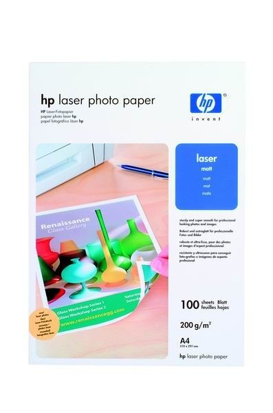 HP Papier Photo Professional Laser 200g A4 Matowy Q6550A