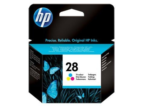 HP INK CARTRIDGE COLOR NO.28/8ML C8728AE