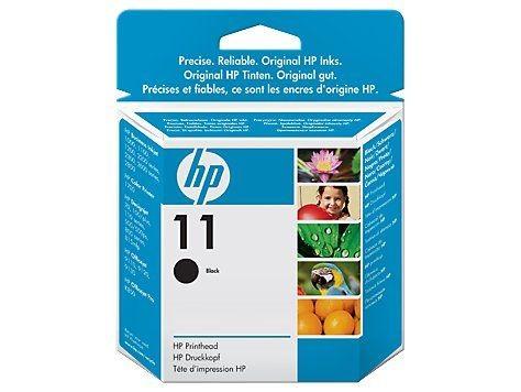 HP Głowica drukująca nr 11 Czarny C4810A