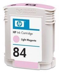 HP 84 original ink cartridge light magenta standard capacity 69ml 1-pack