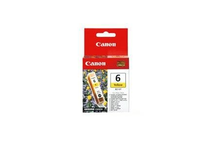 Canon Atrament Tusz/ IP3000 BCI-6 Yellow 280str