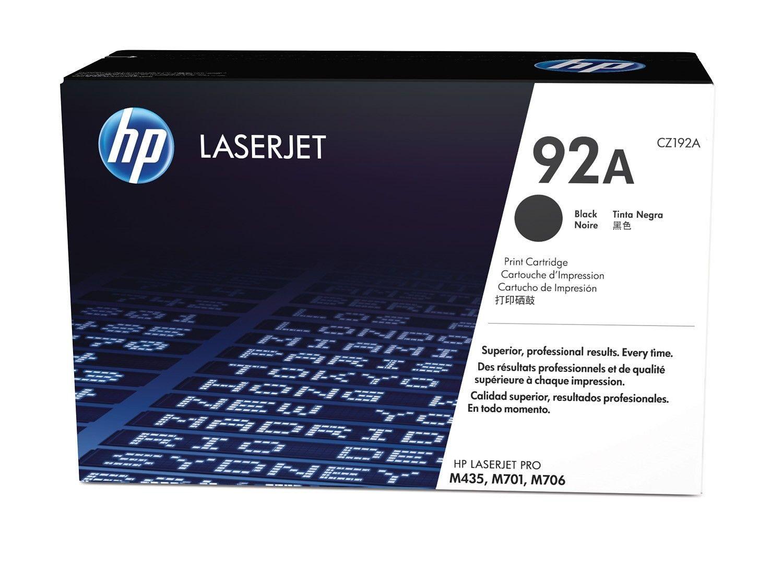 HP 92A LaserJet original toner cartridge black standard capacity 2.500 pages 1-pack